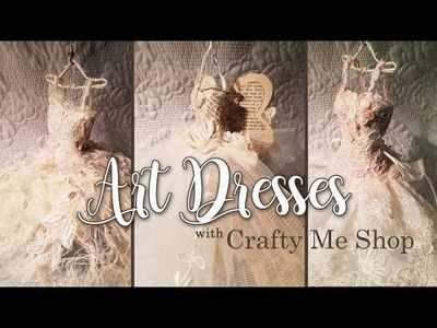 Whimsical Art Dresses with Crafty Me Shop