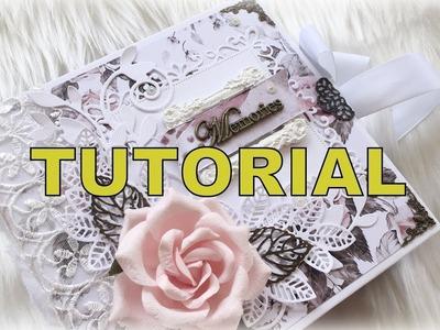 "Complete Tutorial 6""x 6"" Pocket Pages mini album"
