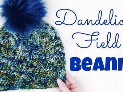 Dandelion Field Beanie Tutorial