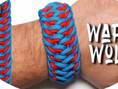 DIY Paracord Bracelet Werewolf modified World Of Paracord How to make Paracord Bracelet Tutorial