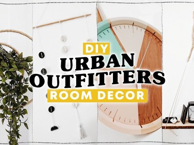DIY URBAN OUTFITTERS ROOM DECOR ✨ Affordable + Super Easy. Lone Fox