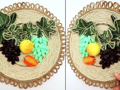 DIY Wall Hanging Decoration Ideas from Jute Twine Art and Craft