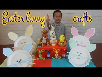 Easter bunny crafts ideas | Easter kids crafts | Fun and cute easter DIY