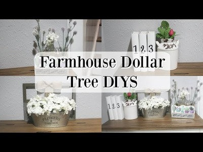 FARMHOUSE DOLLAR TREE DIYS 2019