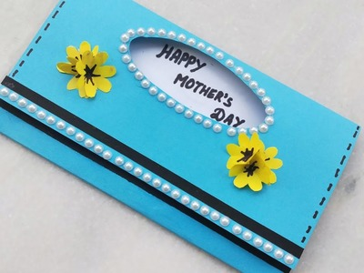 Handmade Mother's Day Card ideas.Easy Simple & Beautyful card for mother.mothers day card tutorial