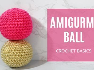 How To Crochet - Easy Beginners Amigurumi Basic Head