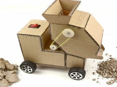 How to make a Crusher from Cardboard