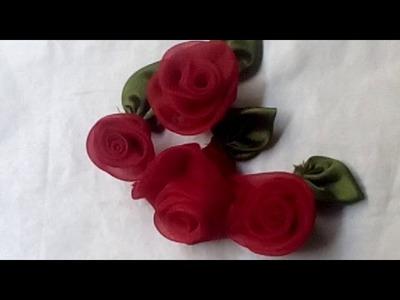 How to make tissue flower tutorial
