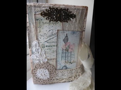 """OhLa Chic"" Journal- DTP for LoveJunkJournals& Butterbeescraps- SOLD thank you!"