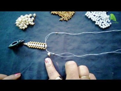 Pearl Necklace Making at Home
