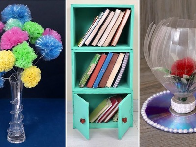 10 Smart. Best Out of Waste || DIY Room Decor & Organization Ideas For Your House