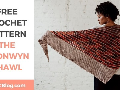 Bronwyn Shawl Pattern Tutorial *FREE CROCHET TRIANGLE WRAP PATTERN W. STEP-BY-STEP TUTORIAL