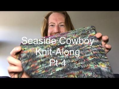 Burly Purly Knits KAL   Pt 4 Seaside Cowboy Shawl knit-along