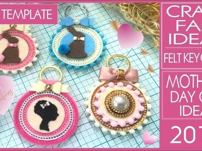 Craft Fair Ideas 2019 - DIY Felt Key Chain - Mother's Day Gift Ideas - Arteza Felt