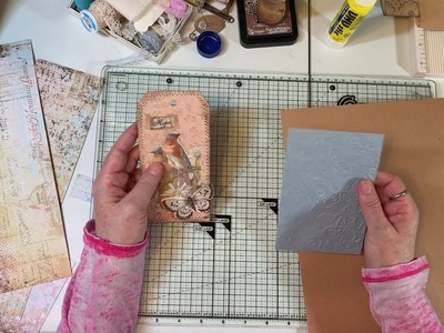 Craft withMe - Making an Inspired Folio - Part 2
