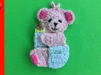 Amigurumi crochet bear Stuffed teddy bear Handmade brown bear | Etsy | 300x400