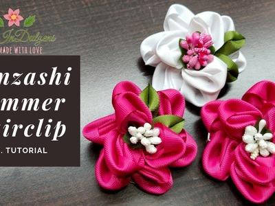 D.I.Y. Kanzashi Summer Hairclip | MyInDulzens