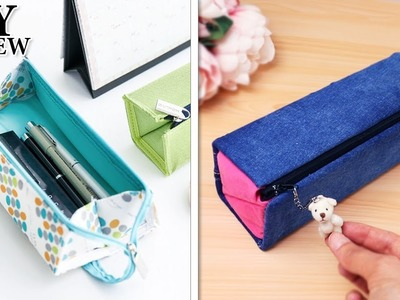 DIY CUTE PURSE CASE BAG. Square Scalable Capacity Box Case Portable