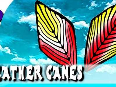 Feather canes using skinner blends 1 - polymer clay tutorial 551