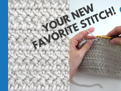 How to Crochet the Herringbone Double Crochet