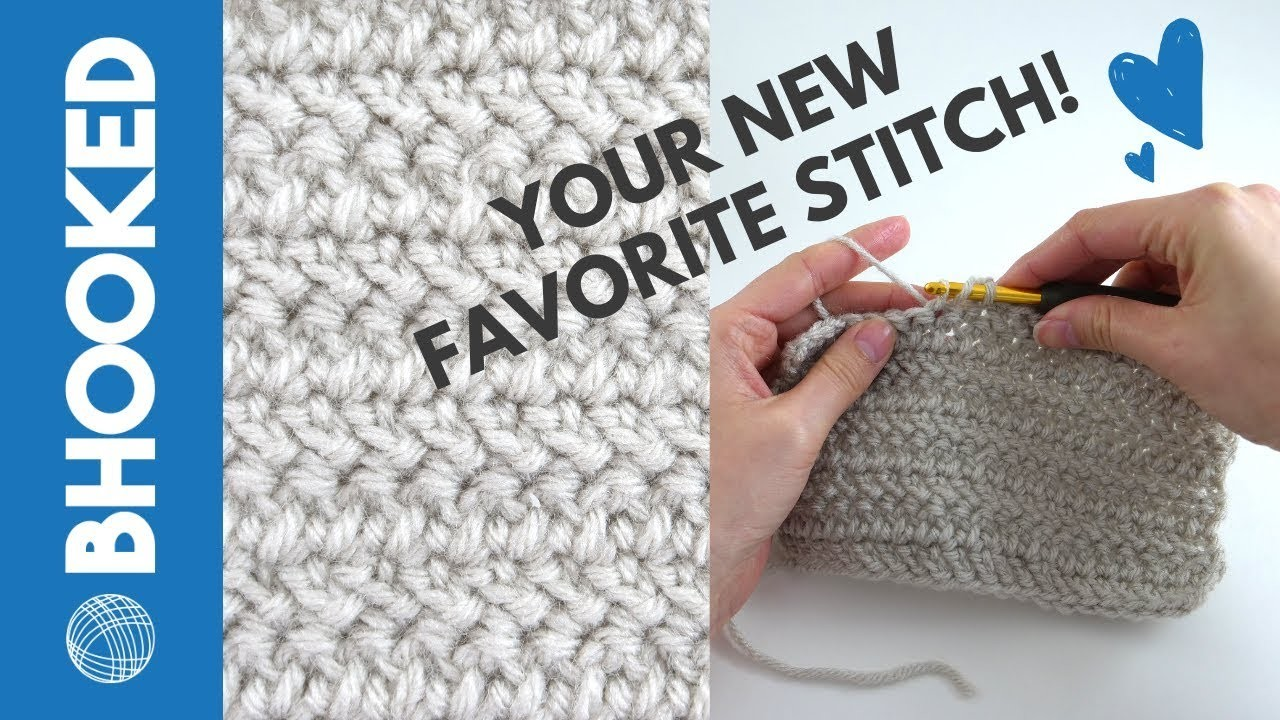 How to Crochet the Herringbone Double Crochet