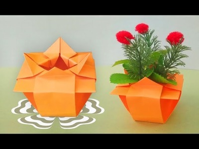 How to make chinese flower vase