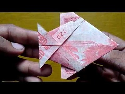 How To Make Fold Fish ???? With 20 RS. NOTE | #SuryaOrigami