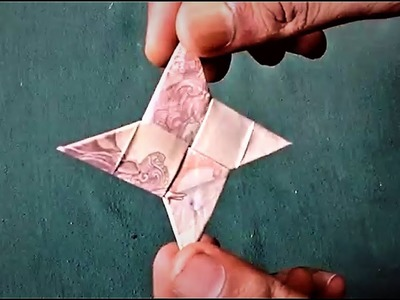 How To Make NINJA STAR of 10 Rupees Note - ORIGAMI   #SuryaCraft