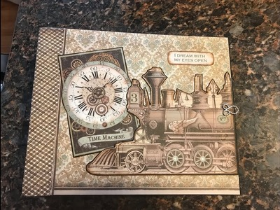 LARGE ALBUM TUTORIAL PART 1 VOYAGES SHELLIE GEIGLE JS HOBBIES AND CRAFTS