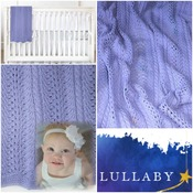 Lullaby Baby Blanket Knit Pattern
