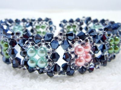 Make a BRACELET using only THREE Types of Beading Materials