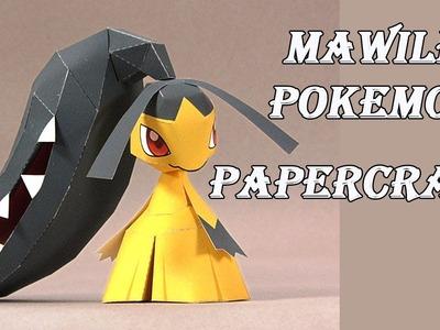 Mawile Pokemon Papercraft( kucheat )- Mega Pokemon
