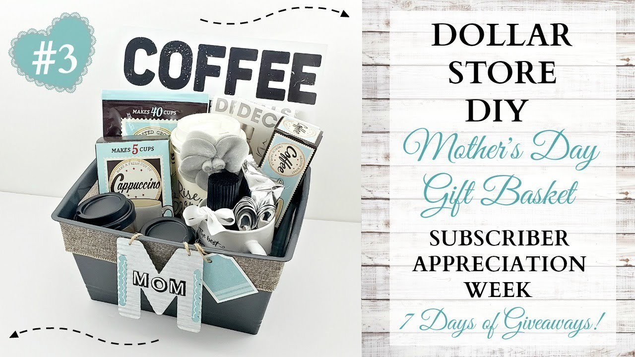 Mother's Day DIY Gift Basket ~ Subscriber Appreciation Week ~ Video 3 Of 7 ~ GIVEAWAY CLOSED