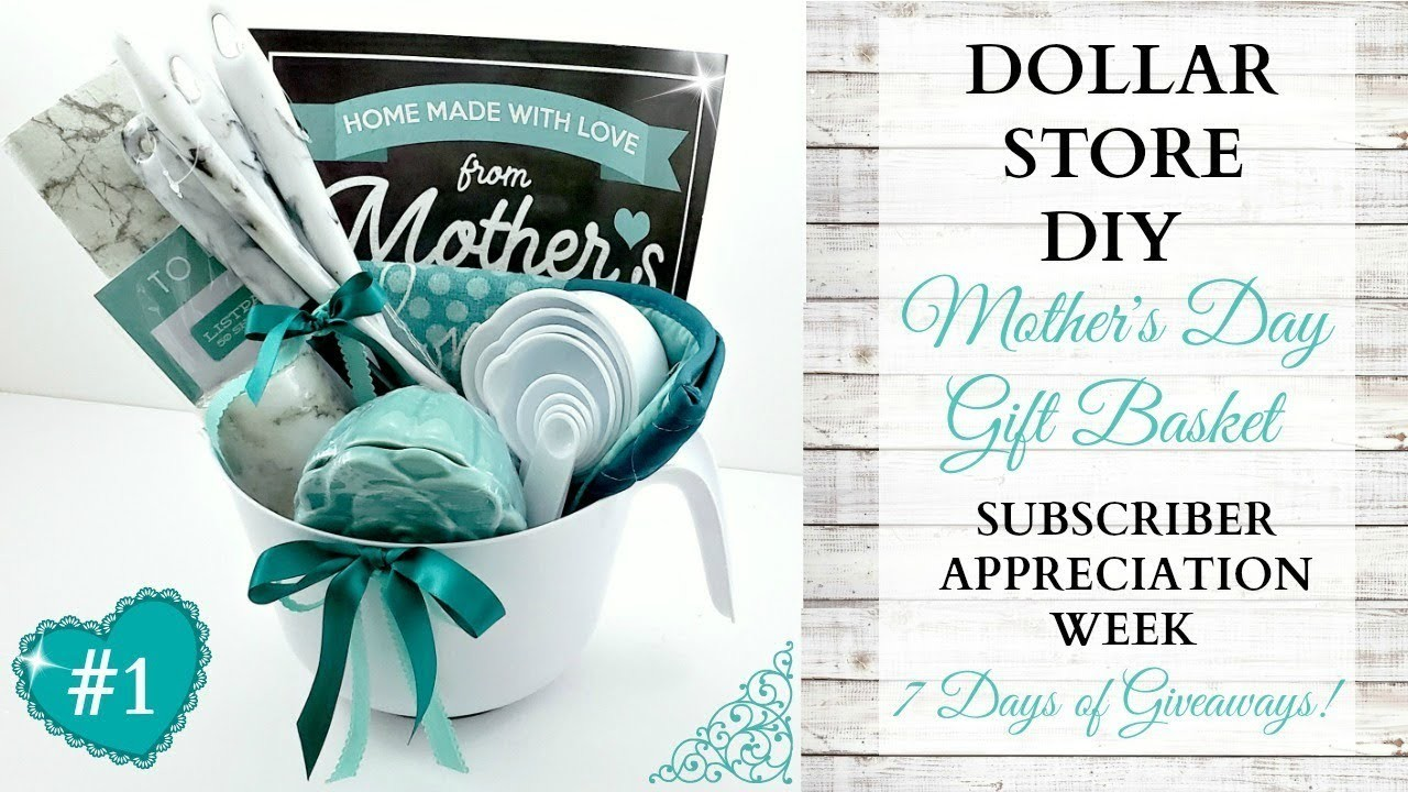 Mother's Day DIY Gift Basket ~ Subscriber Appreciation Week ~ Video 1 Of 7 ~ GIVEAWAY CLOSED