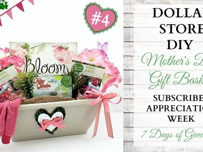 Mother's Day DIY Gift Basket ~ Subscriber Appreciation Week ~ Video 4 Of 7 ~ GIVEAWAY CLOSED