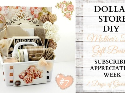 Mother's Day DIY Gift Basket ~ Subscriber Appreciation Week ~ Video 7 Of 7 ~ GIVEAWAY CLOSED