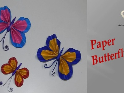 Paper Butterfly (kids craft)