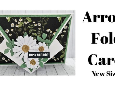 Arrow Fold Card | New Size | Original Design
