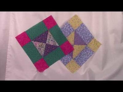Block 4 Novice Beginners Sampler Quilt 2019 - learn to quilt