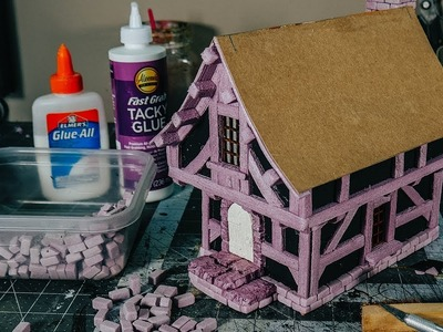 Building a Foam House for Tabletop Gaming PART ONE: STRUCTURE (Black Magic Craft Ep.134)