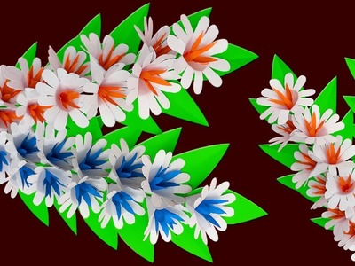 Diy Flower Stick | Handcraft Paper Stick Flower Making | DIY Beautiful Handcraft with Paper
