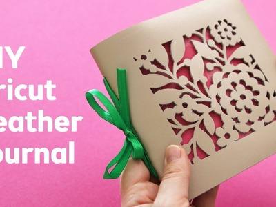 DIY Leather Journal with Cricut Maker   Sea Lemon