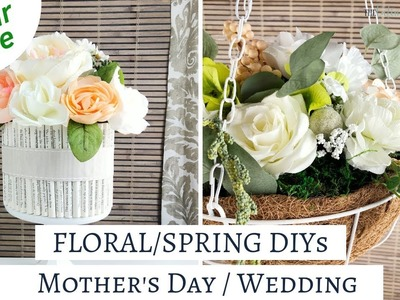 Dollar Tree Spring DIY's - Mother's Day and Wedding DIY's