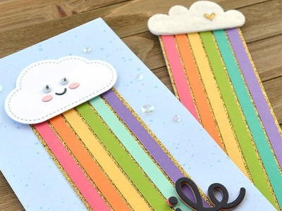 How to make a card and matching bookmark