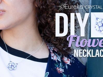 How to Make Leah's Fleur de Crystal Necklace