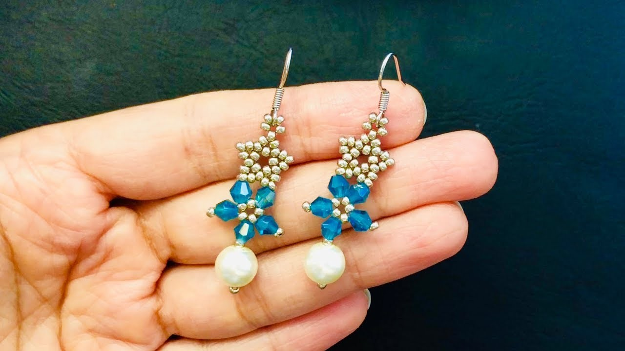 Mother's Day Gift Idea. DIY Earrings.Beaded Earrings.How to make Beaded Earrings