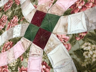 OnPoint TV Ep. 408: Now or Never Free Motion Quilting-Double Wedding Ring Quilt