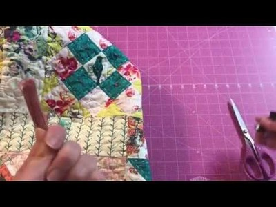 Pattern 13:  Adding Boho Touches (Bari J quilt along)