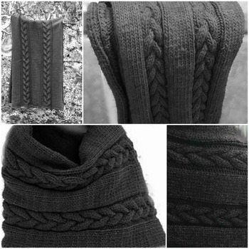 Winter's Whisper Wrap Knitting Pattern