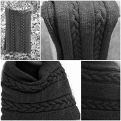 Winter's Whisper Wrap Knitting Pattern